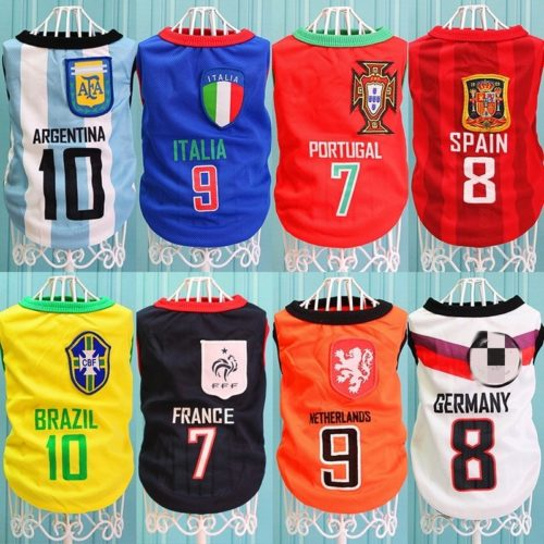 Sports Football Jersey for Dogs