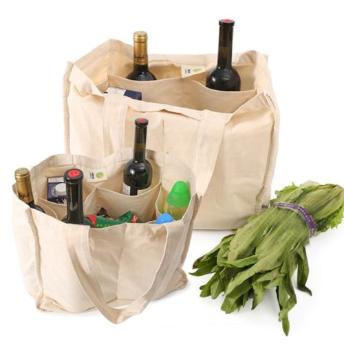 Canvas Reusable Grocery Tote