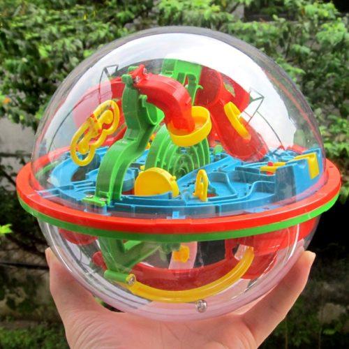 3D Ball Maze Puzzle Brain Teaser