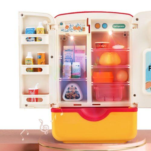 Kids Toy Refrigerator with Dispenser