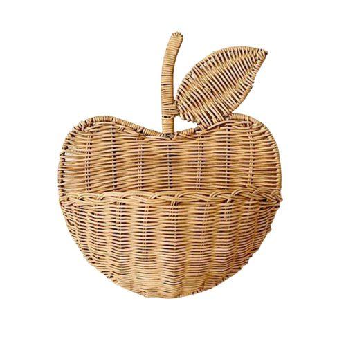 Hand Woven Rattan Wall Basket