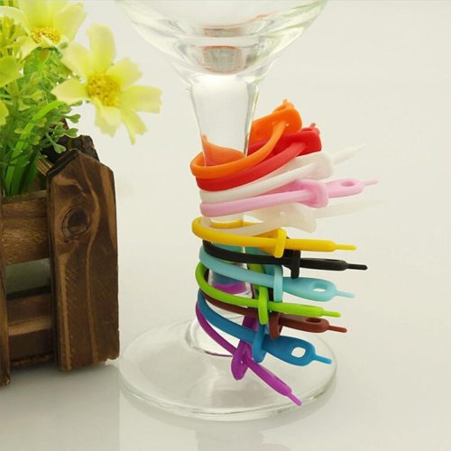 Silicone Drinking Tags (12pcs)