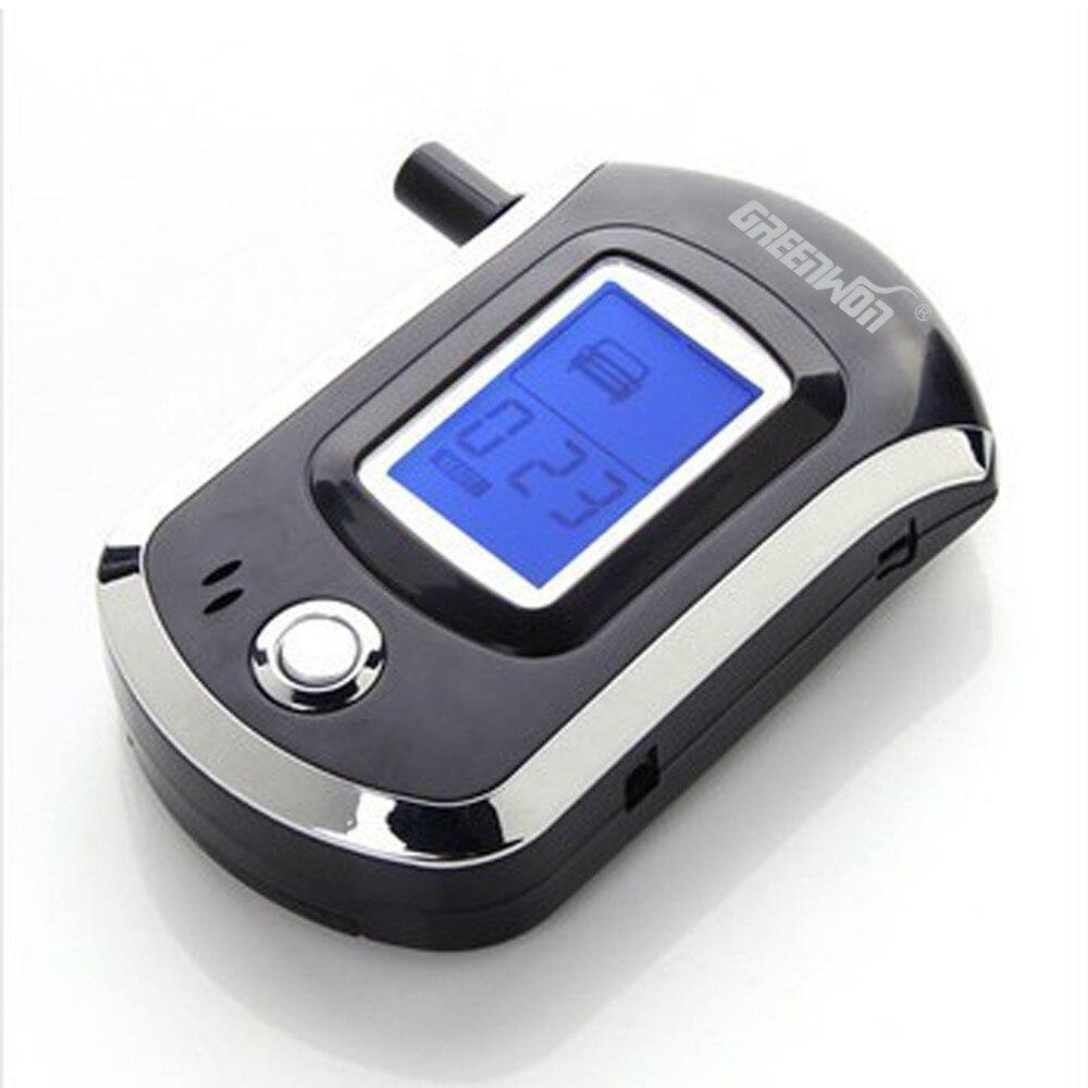 GREENWON בדיקת אלכוהול דיגיטלית לנשימה דיגיטלית לנשימה AT6000 בודק אלכוהול בודק גלאי אלכוהול Dropshipping