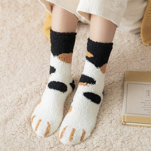 Super Soft Cat Claw Socks