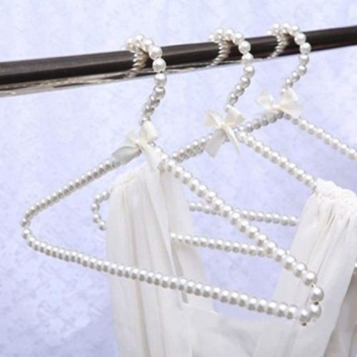 White Faux Pearl Hangers (10pcs)