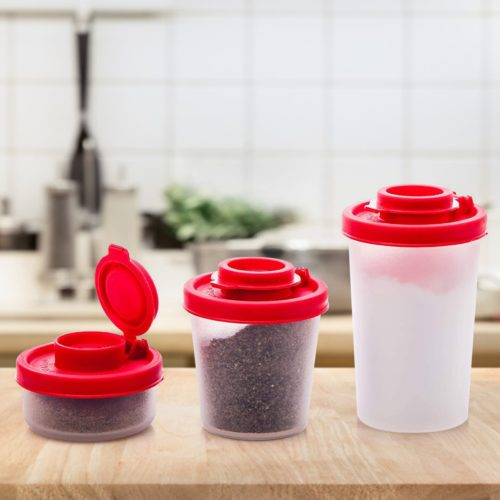 Leakproof Camping Salt and Pepper Shaker