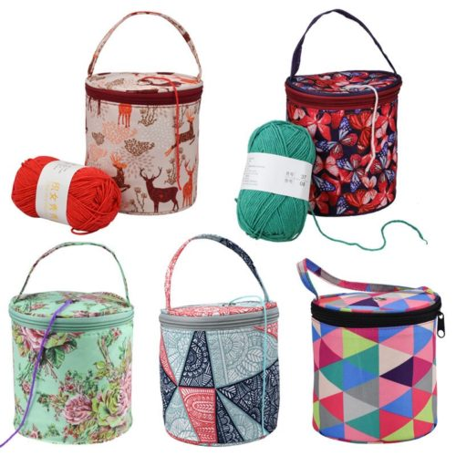 Crochet Storage Bag Yarn Tote