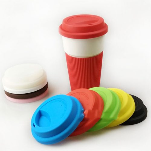 Universal Silicone Coffee Cup Lid