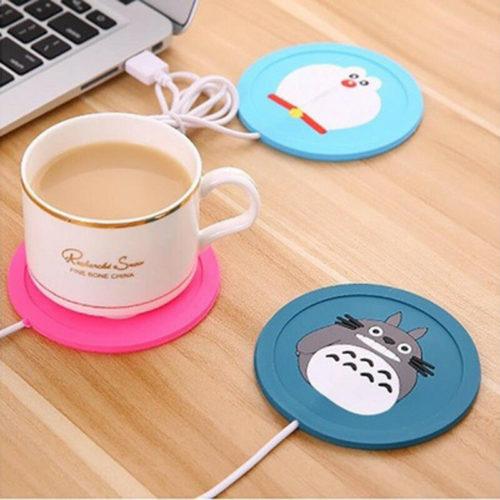 USB Cartoon Cup Warmer Coaster