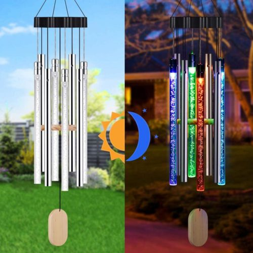 Waterproof LED Solar Wind Chime