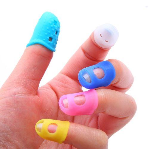 Protective Silicone Thimbles (5pcs)