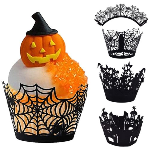 Paper Halloween Cupcake Liner (12 pcs)