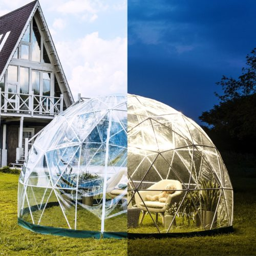 Waterproof LED Outdoor Bubble Tent