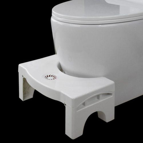 Non-Slip Toilet Footrest Squatting Stool