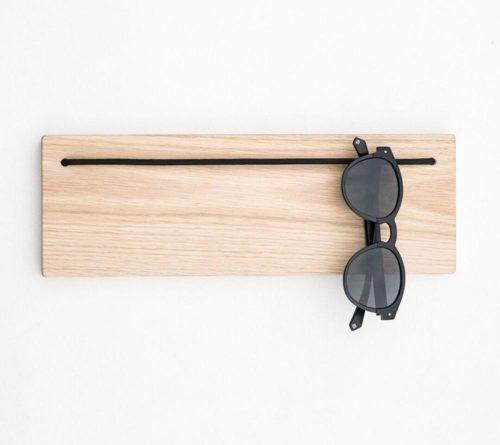 Rustic Wooden Sunglass Hanger