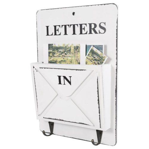 Wooden Mailbox Key Holder