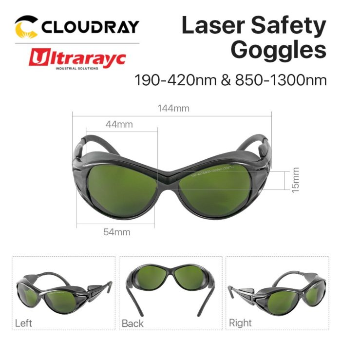 Laser Protection Goggles with Case
