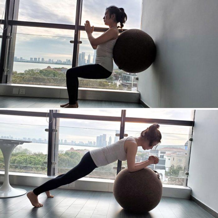 Anti-Static Zippered Yoga Ball Cover