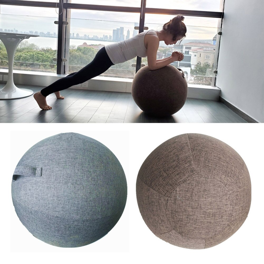 Premium Yoga Ball Protective Cover Gym Workout Balance Ball Cover and Bottom Ring for Yoga Gym Exercise Fitness Accessories