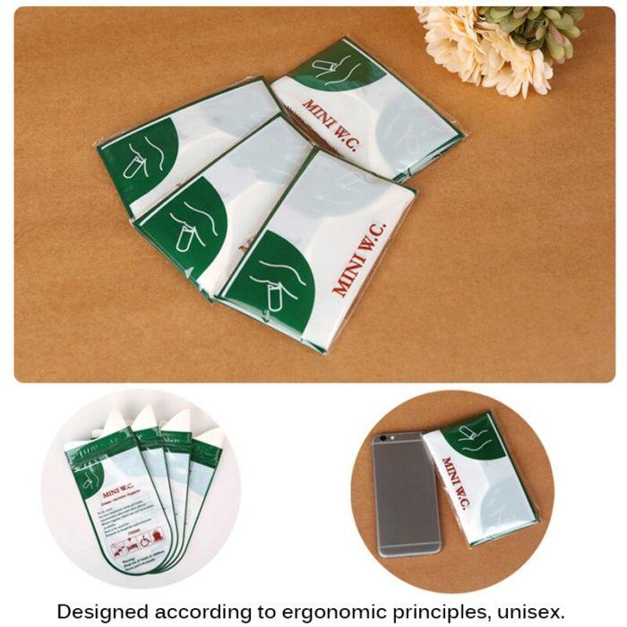 Disposable Urinals 700ml Bags (4pcs)