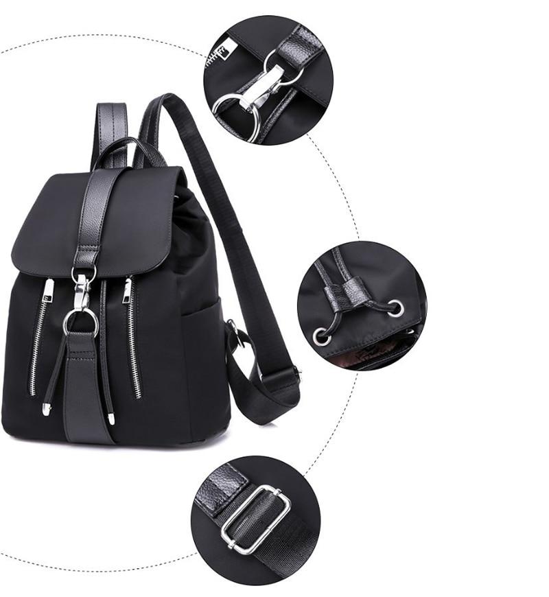 Trendy Women Backpack Casual Bag