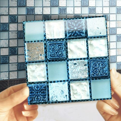 Self-adhesive Mosaic Tile Stickers (20Pcs)