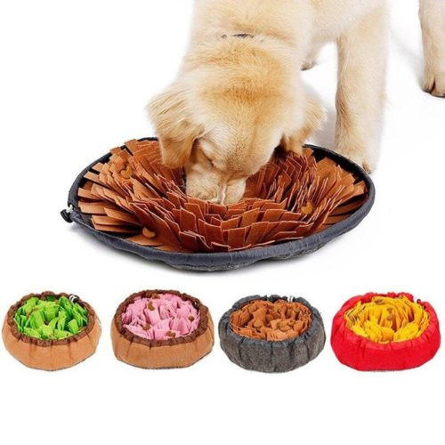 Feed Training Dog Sniffing Mat