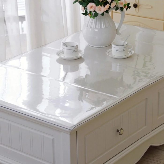 Soft Clear PVC Table Protector