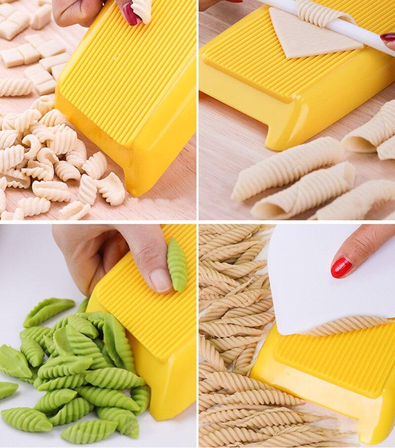 YOMDID Multifunctional Spaghetti Macaroni Maker Pasta Maker Noodle Machine DIY Macaroni Making Planchette Mold Kitchen Gadgets