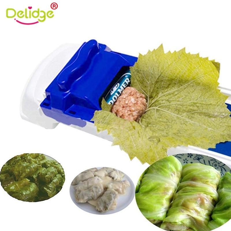 Delidge 1Pc Vegetable Meat Rolling Tool Magic Sushi Roll Maker Cabbage Plant Stuffed Grape Leaf Machine Creative Sushi Mold Tool