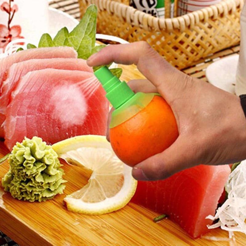 Kitchen Gadgets Lemon Sprayer Fruit Juice Citrus Spray Orange Juice Squeeze Fruit Squeezer de cozinha Kitchen Cooking Tools