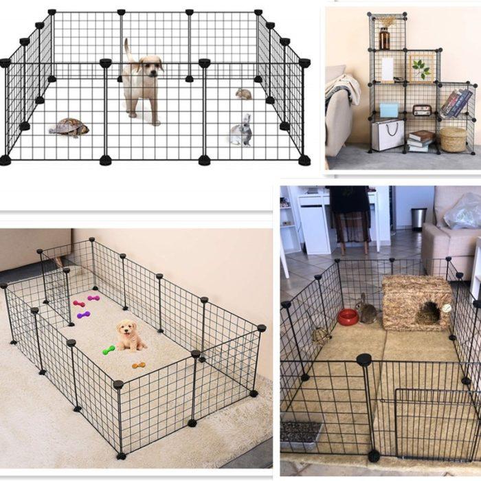 Puppy Fence Pet Iron Playpen