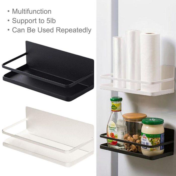 Magnetic Refrigerator Shelf Storage
