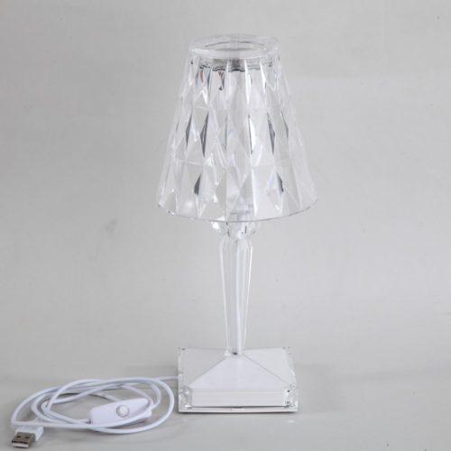 Crystal USB Acrylic Table Lamp