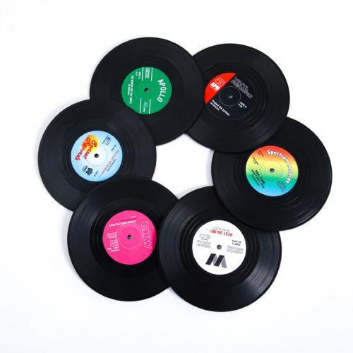 Heat-Resistant Non-Slip Record Coaster