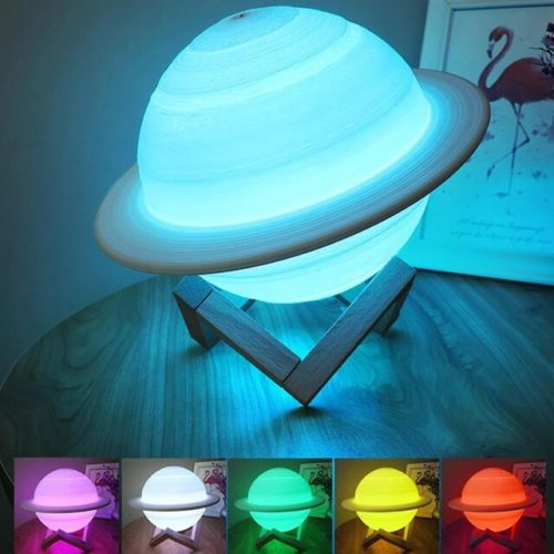 Rechargeable Saturn Lamp Night Light