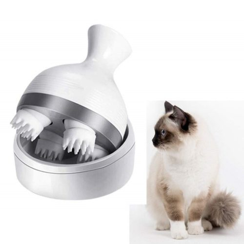 Rechargeable Electric Cat Head Massager