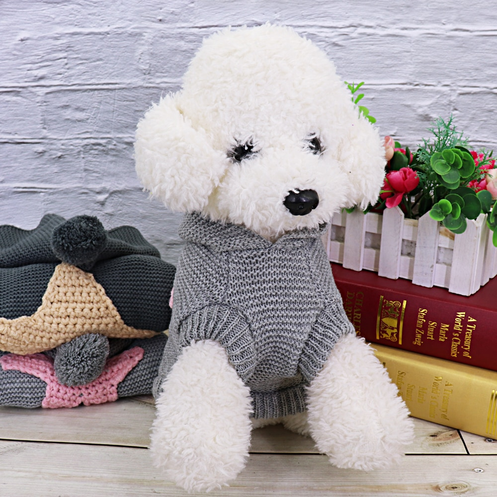 Warm Pet Cat Clothes Winter Cat Dog Coat Jacket Pet Puppy Sweater Hoodies For Small Medium Dogs Cats Chihuahua Yorkies Clothes