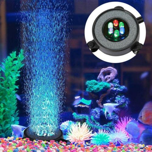 Submersible Fish Tank Light Bubble Stone