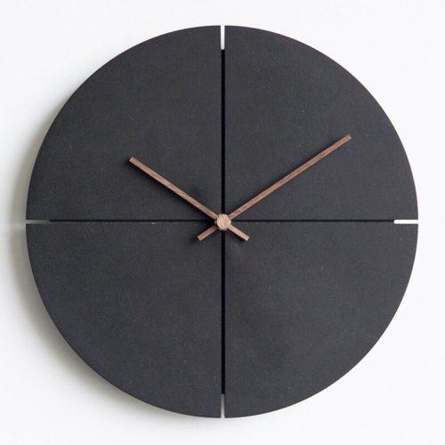 Nordic Wooden Minimalist Wall Clock