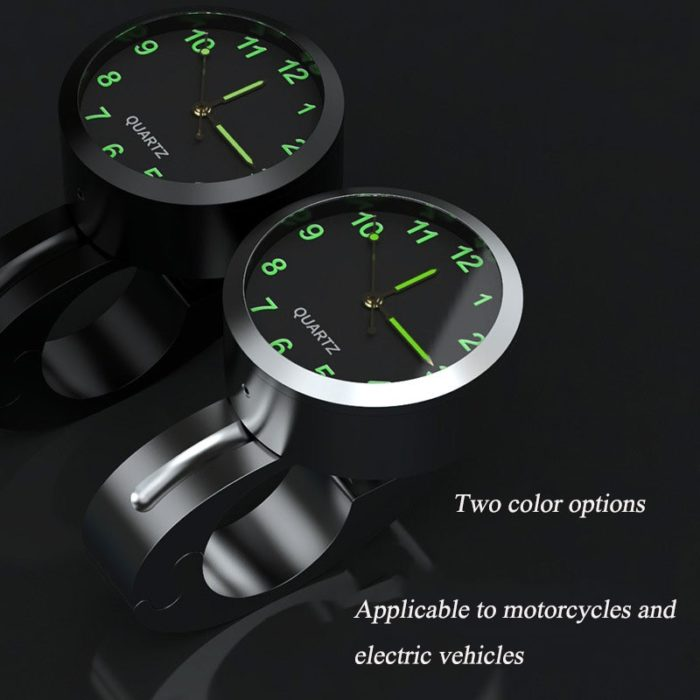 Universal Motorcycle Handlebar Clock