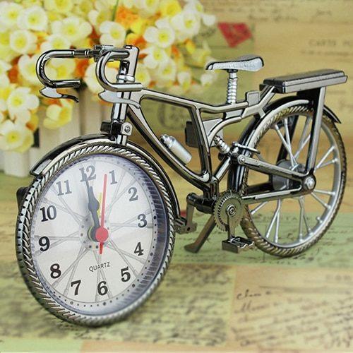 Analog Vintage Bicycle Clock