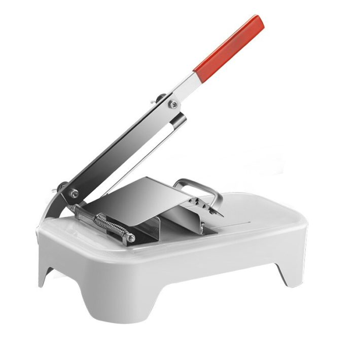 Manual Stainless Steel Bacon Slicer