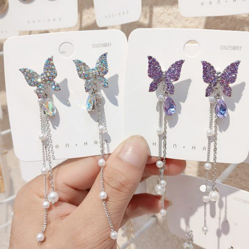 Butterfly Dangling Earrings for Women