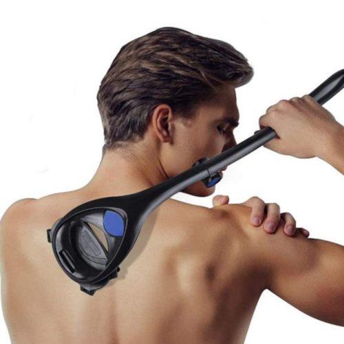 Long Handle Back Shaver for Men