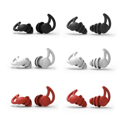 Noise-Blocking Sleeping Ear Plugs (1 Pair)