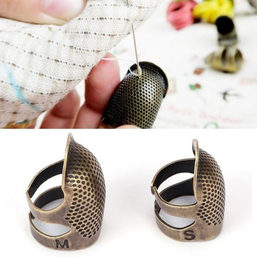Metal Thimble Needlework Finger Protector