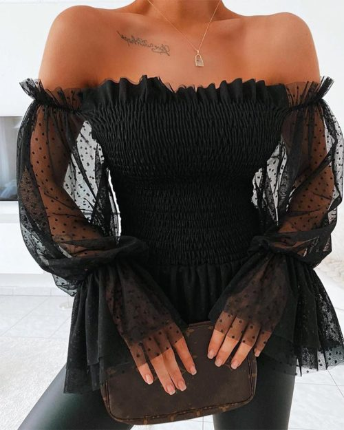 Sexy Off Shoulder Top for Women