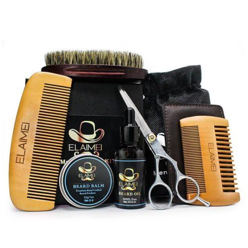 Men's Beard Grooming Kit (6pcs)