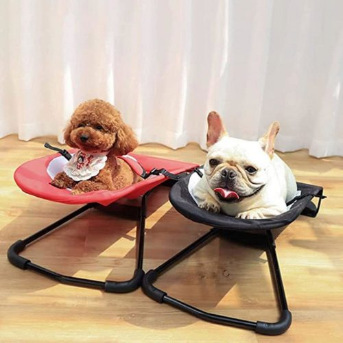 Elevated Dog Rocking Chair Bed